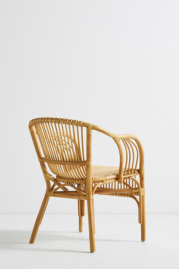 Slide View: 5: Pari Rattan Chair