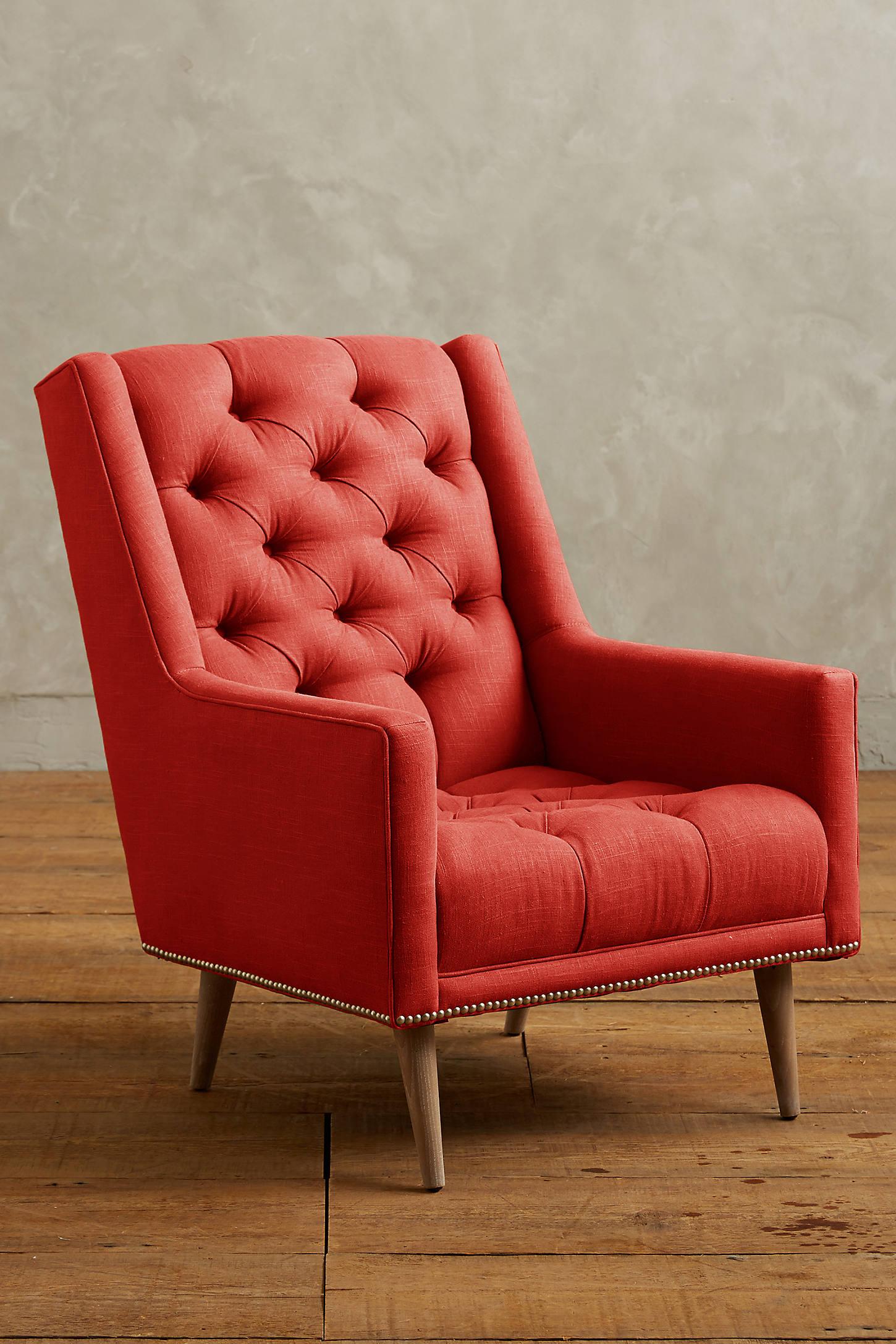 Linen Booker Armchair
