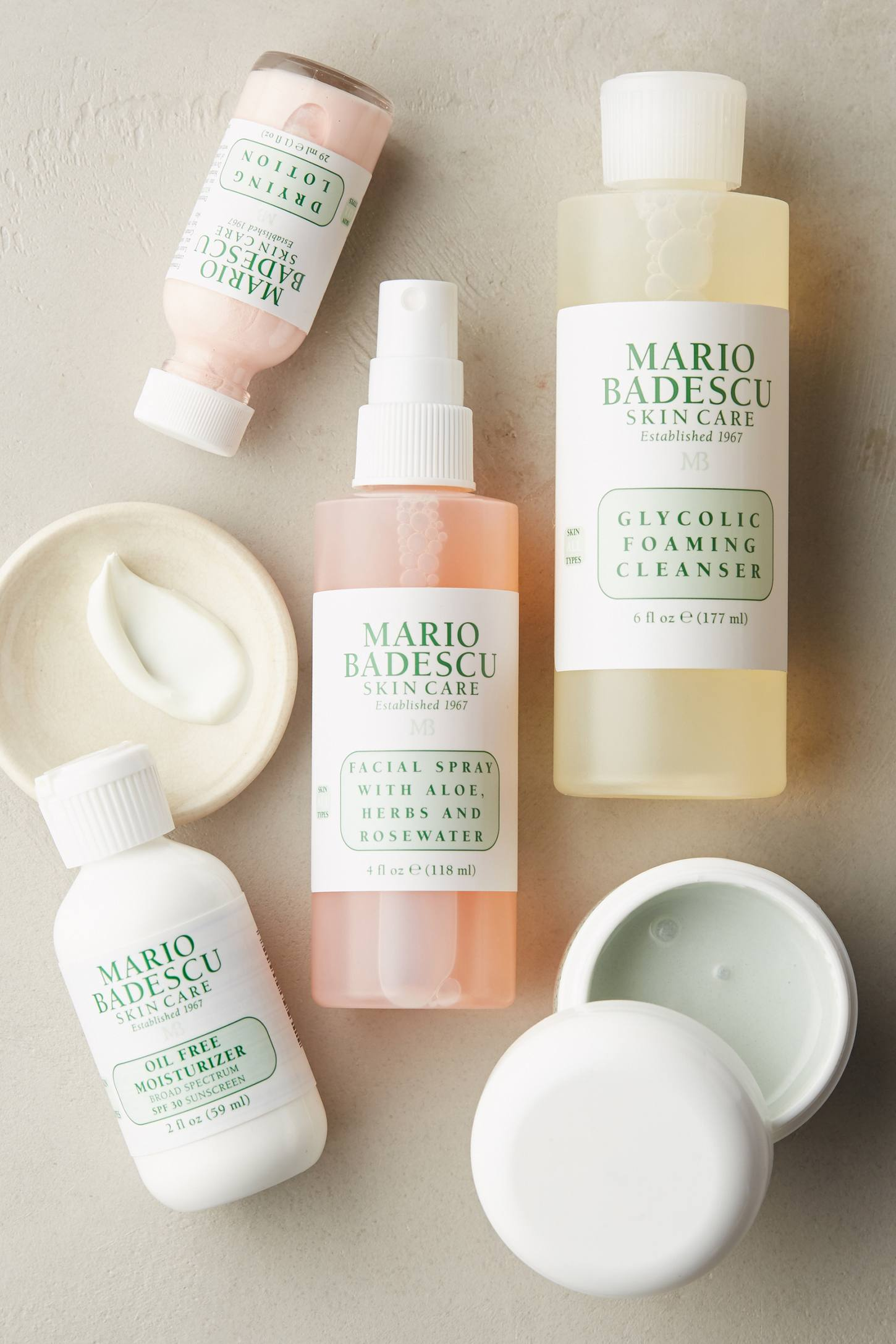 Mario Badescu What began as a skincare salon in New York in is now an internationally renowned skincare brand. The label's botanically-based skincare continues chemist and cosmetologist Mario Badescu's legacy, working magic into your skincare.