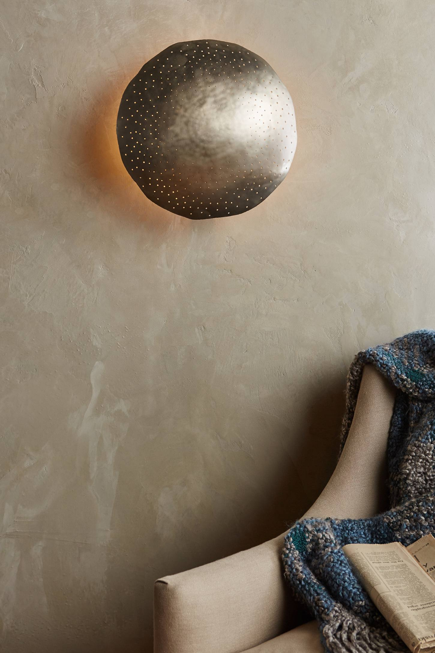 Slide View: 2: Tincelle Dot Sconce