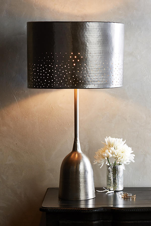 Slide View: 2: Tincelle Dot Table Lamp Ensemble