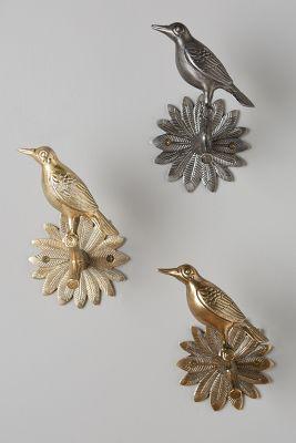 Curtains Ideas bird curtain pole : Curtain Rods, Finials & Tiebacks | Anthropologie