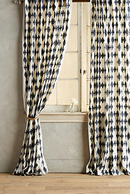 Slide View: 1: Tumbling Diamonds Curtain