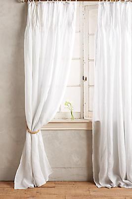 Slide View: 1: Pinch-Pleat Curtain