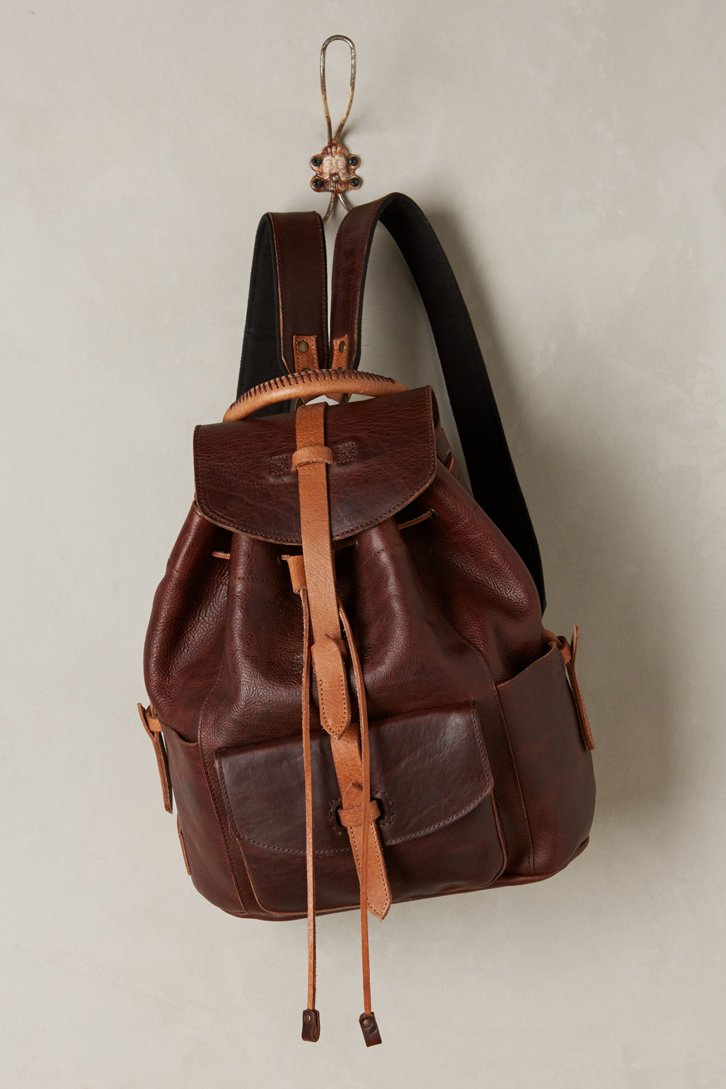 Rainier Leather Backpack  972997b7a