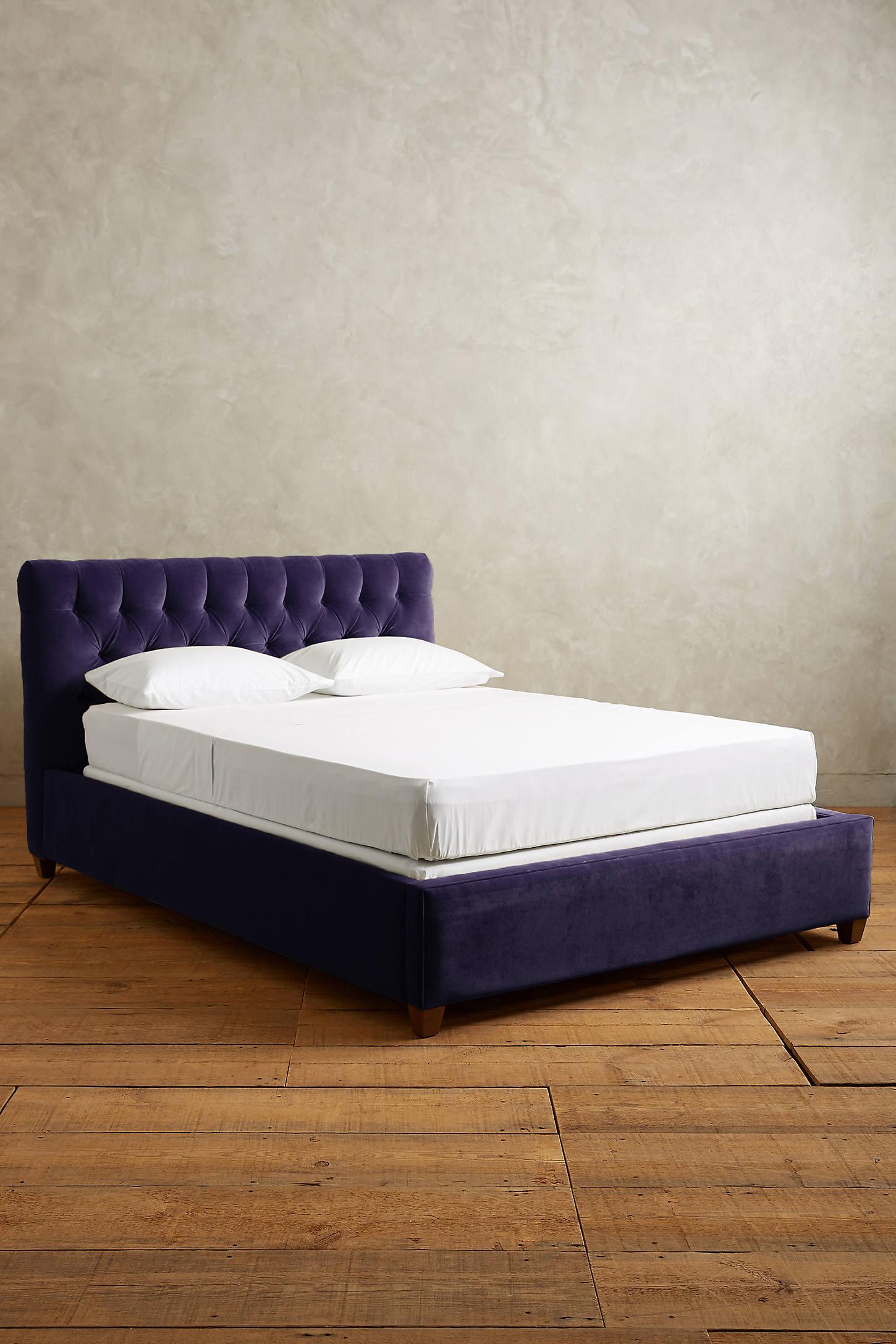 Velvet Tufted Lena Bed