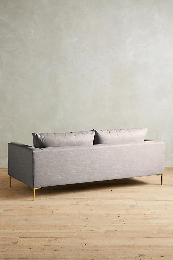 Slide View: 2: Linen Edlyn Sofa