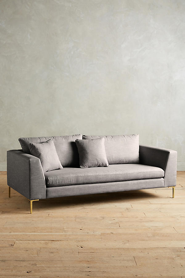 Slide View: 1: Linen Edlyn Sofa