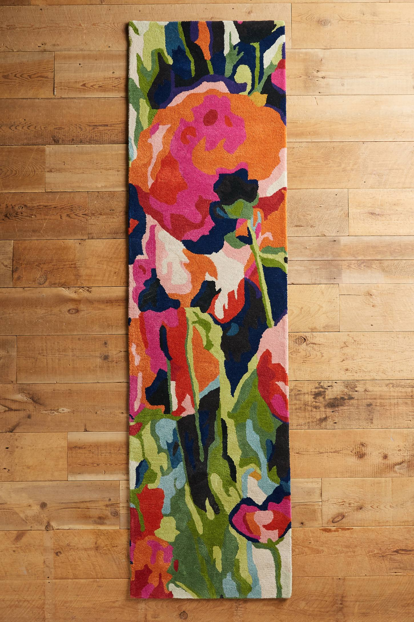 Slide View: 3: Brilliant Poppies Rug