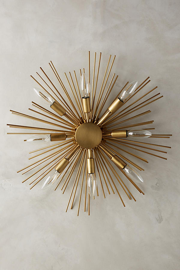 Starburst Sconce Anthropologie