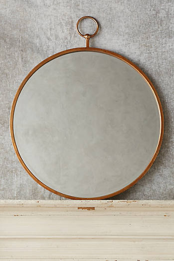 Indigo ferns wall art 228 00 2 colors · hoop mirror