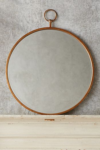 hoop mirror - Mirrors And Wall Art