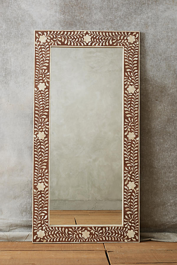Slide View: 5: Bone Inlay Mirror