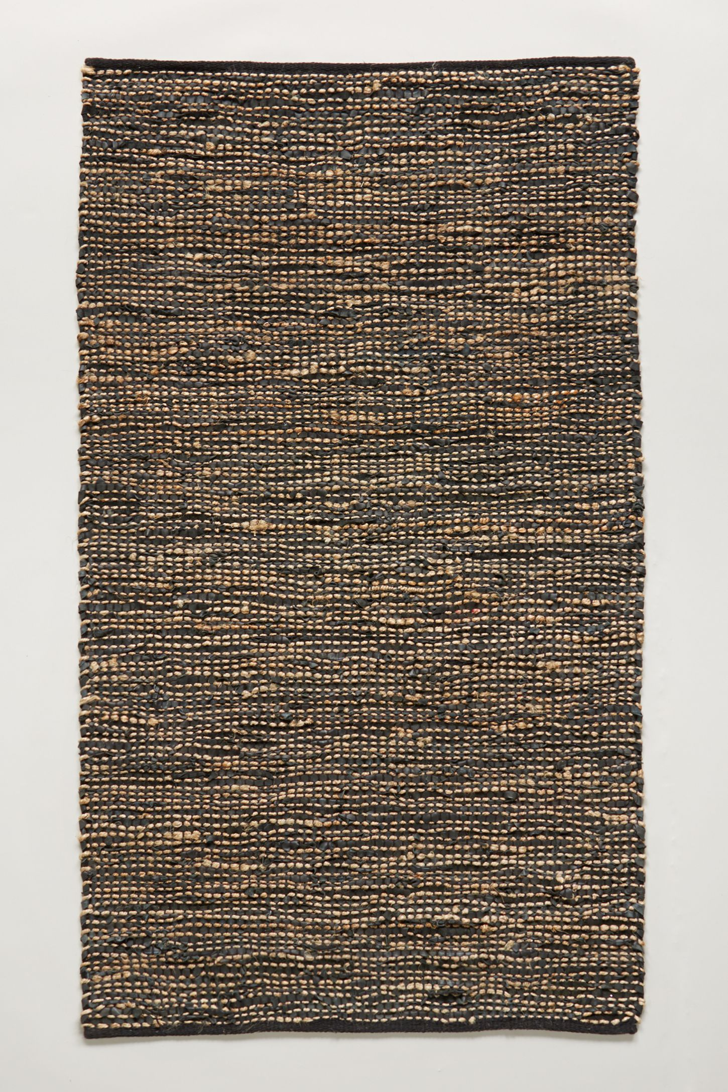 Leather Twined Rug
