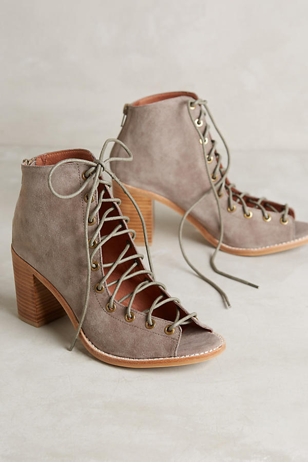 Jeffrey Campbell Cors Lace-Up Heels | Anthropologie
