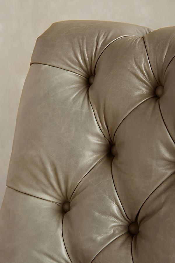 Slide View: 4: Leather Orianna Settee