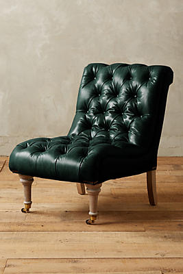 Slub Velvet Orianna Slipper Chair