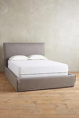 Belgian Linen Carlier Slipcover Bed Anthropologie