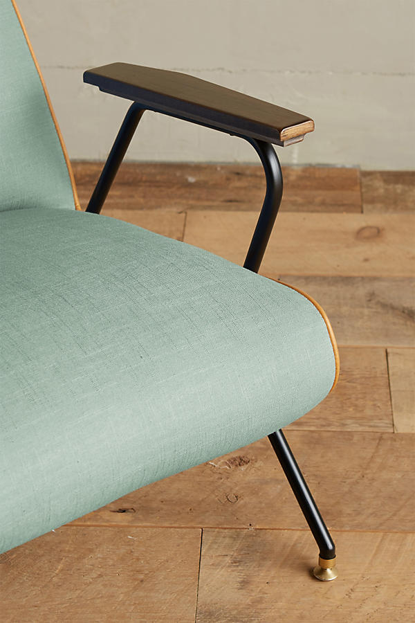 Slide View: 3: Linen Quentin Chair