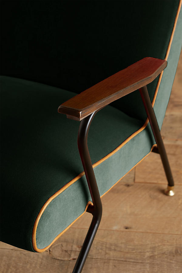Slide View: 3: Velvet Quentin Chair