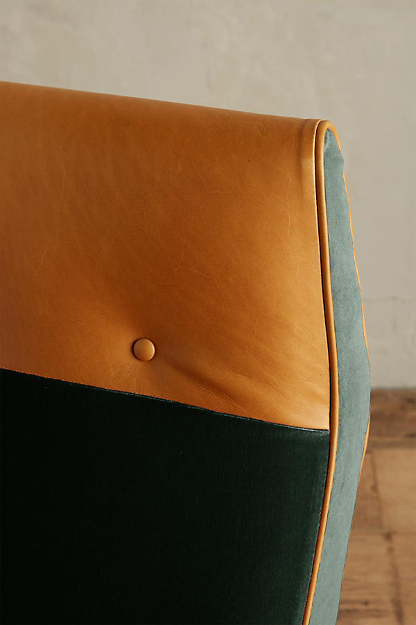 Slide View: 4: Velvet Quentin Chair