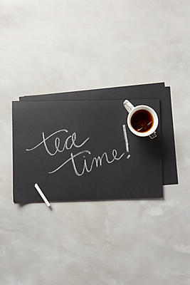 Slide View: 1: Chalkboard Placemats