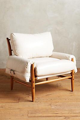 Premium Leather Rhys Chair