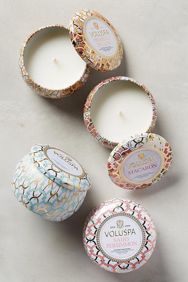 Maison Mini Candle Tin - Turquoise