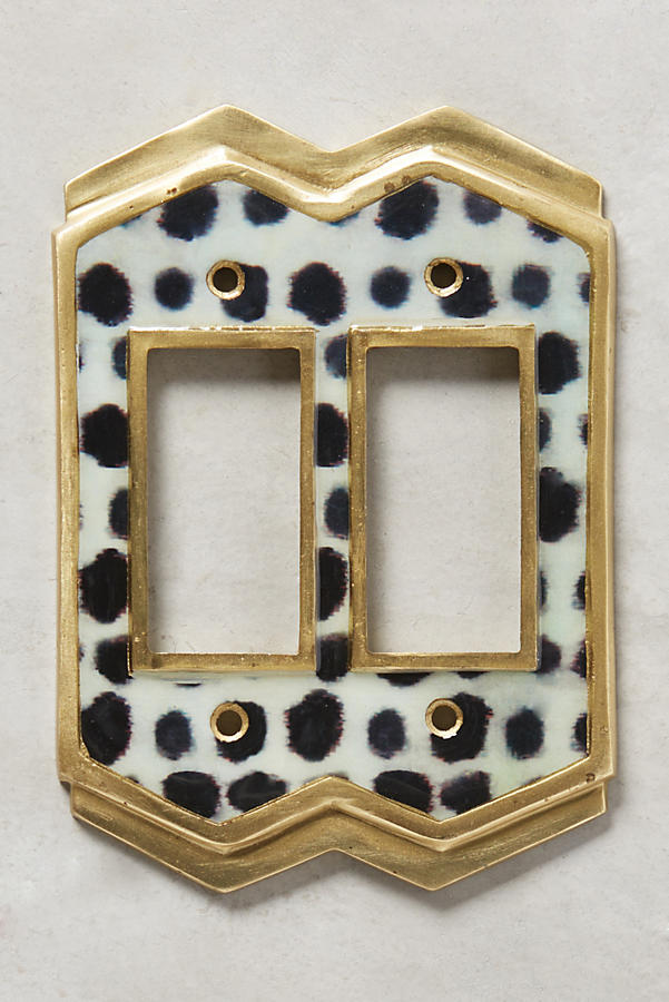Slide View: 2: Dotted Ames Switch Plate