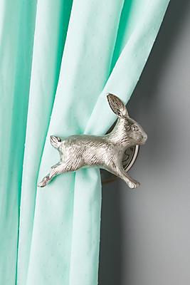 Slide View: 1: Curious Rabbit Tieback