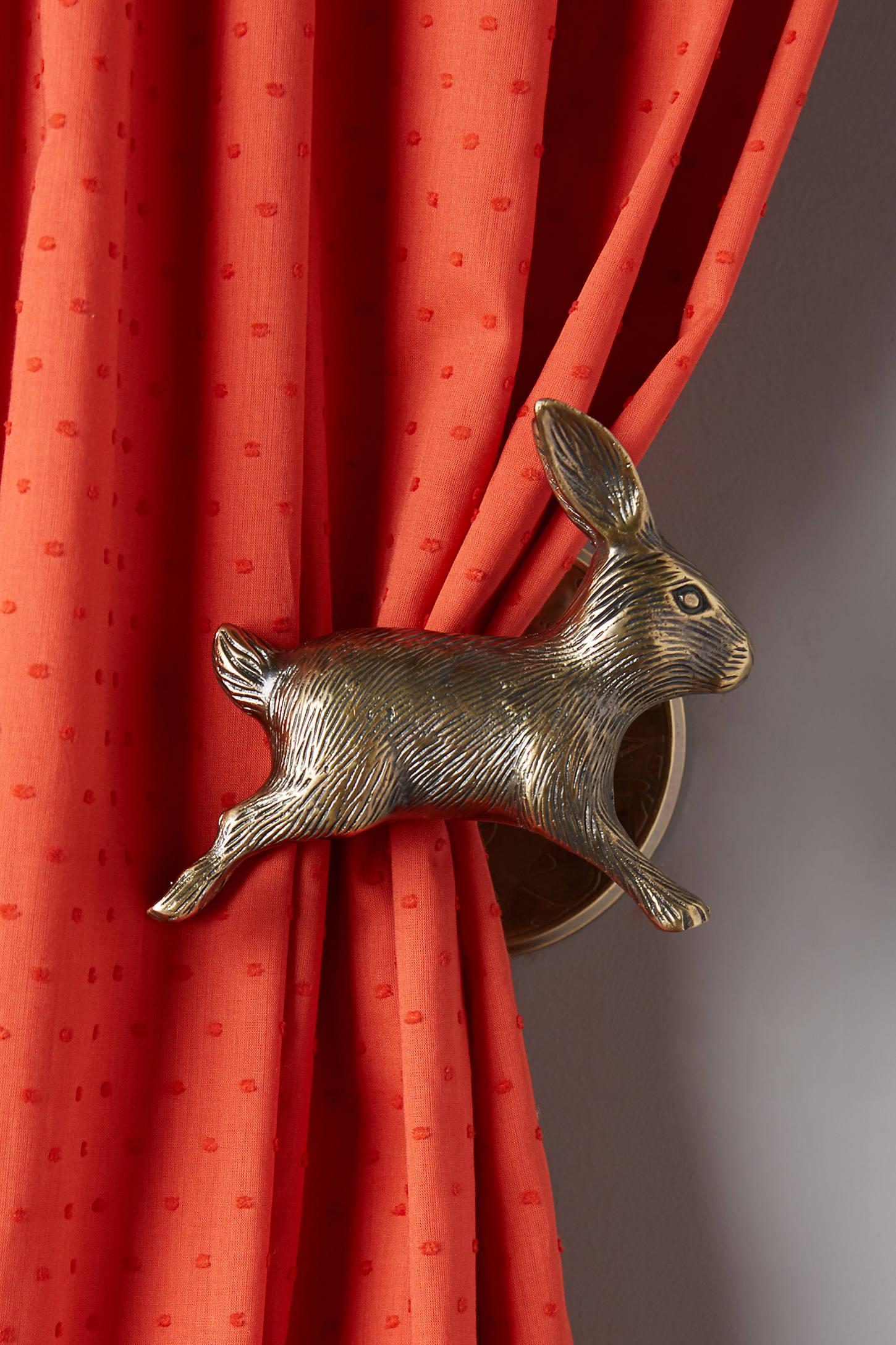Curious Rabbit Tieback