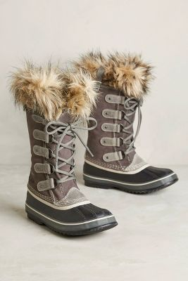 Sorel Joan Of Arctic Fur Trim Boots Anthropologie