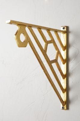 set of brass shelf brackets hairpinlegsdotcom products bracket com hairpinlegs