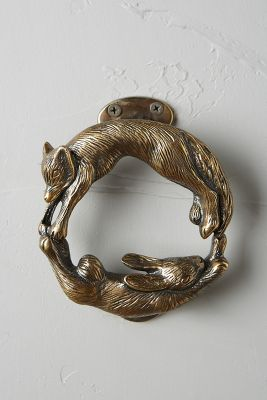 Forest Friendship Doorknocker Anthropologie