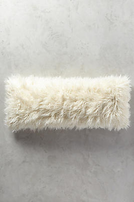 Slide View: 2: Shag Puff Pillow