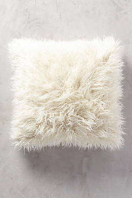 Slide View: 1: Shag Puff Pillow