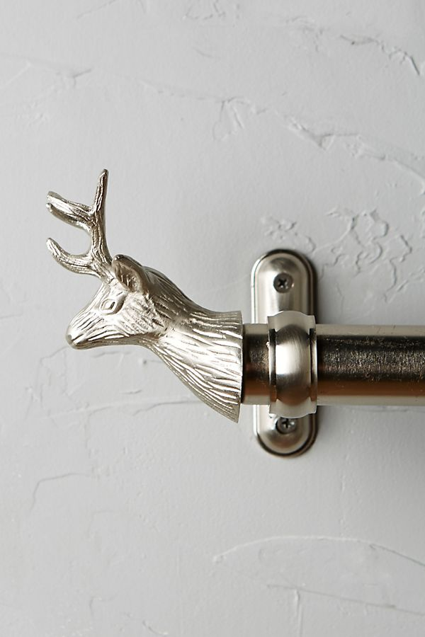 Slide View: 1: Stag Finials