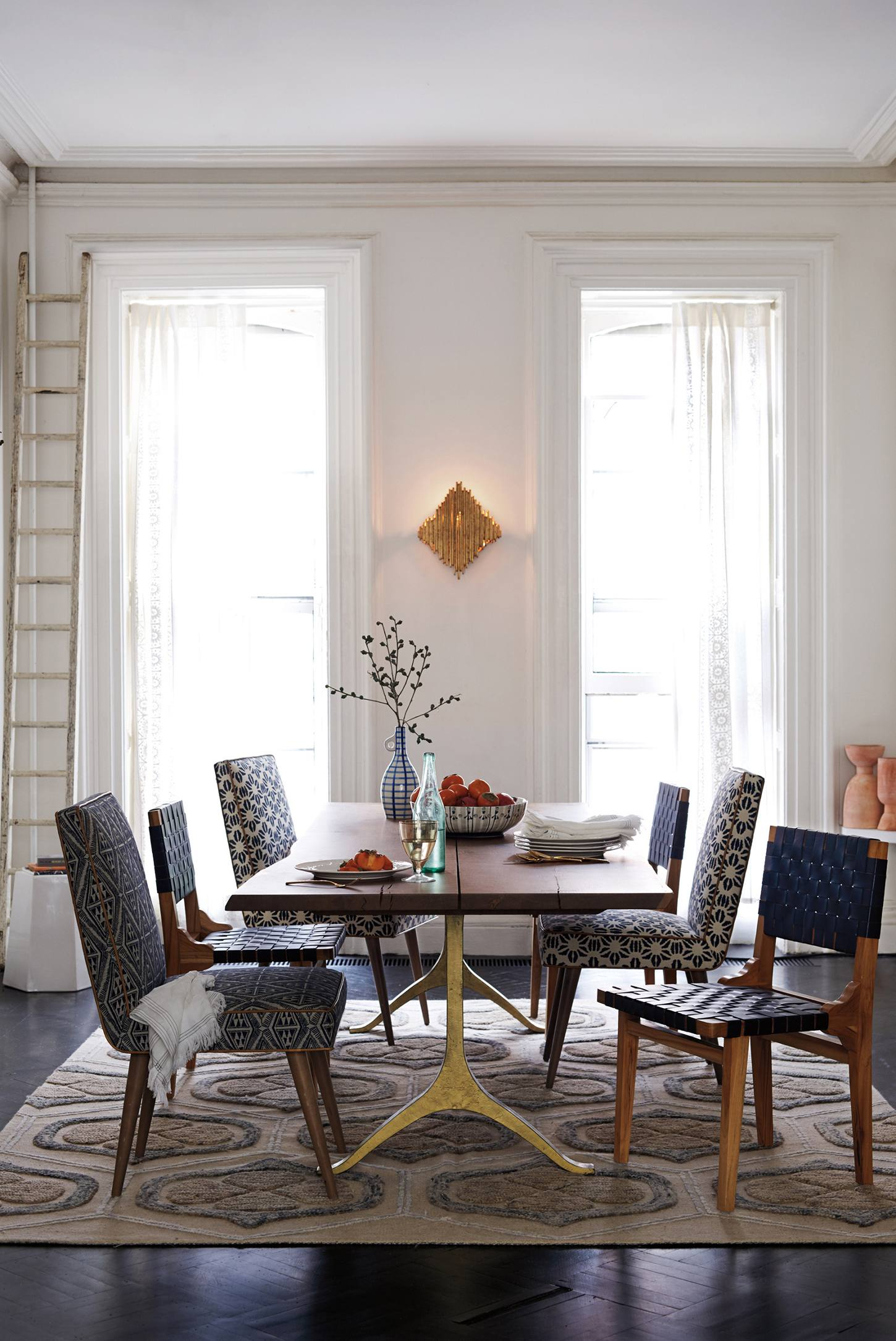 Anthropologie living room - Slide View 4 Nemus Dining Table