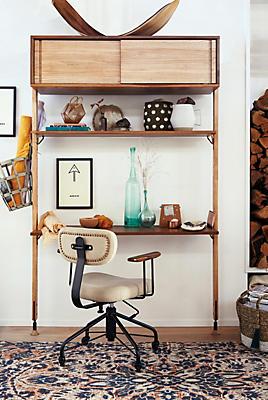 Slide View: 4: Kalmar Desk Chair