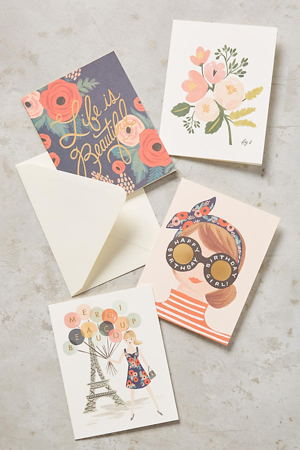 Slide View: 1: Rifle Paper Co. Cards