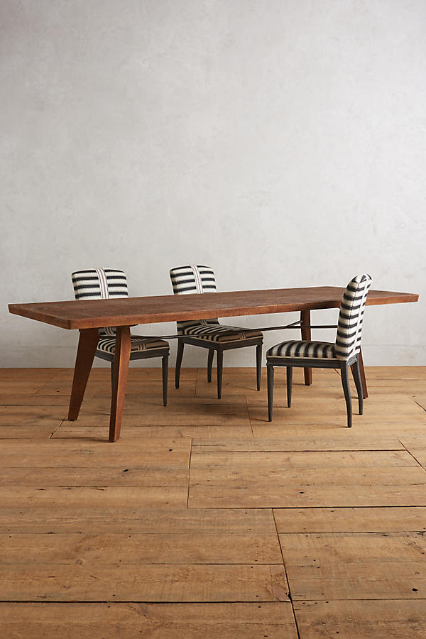 - Rough-Hewn Dining Table Anthropologie