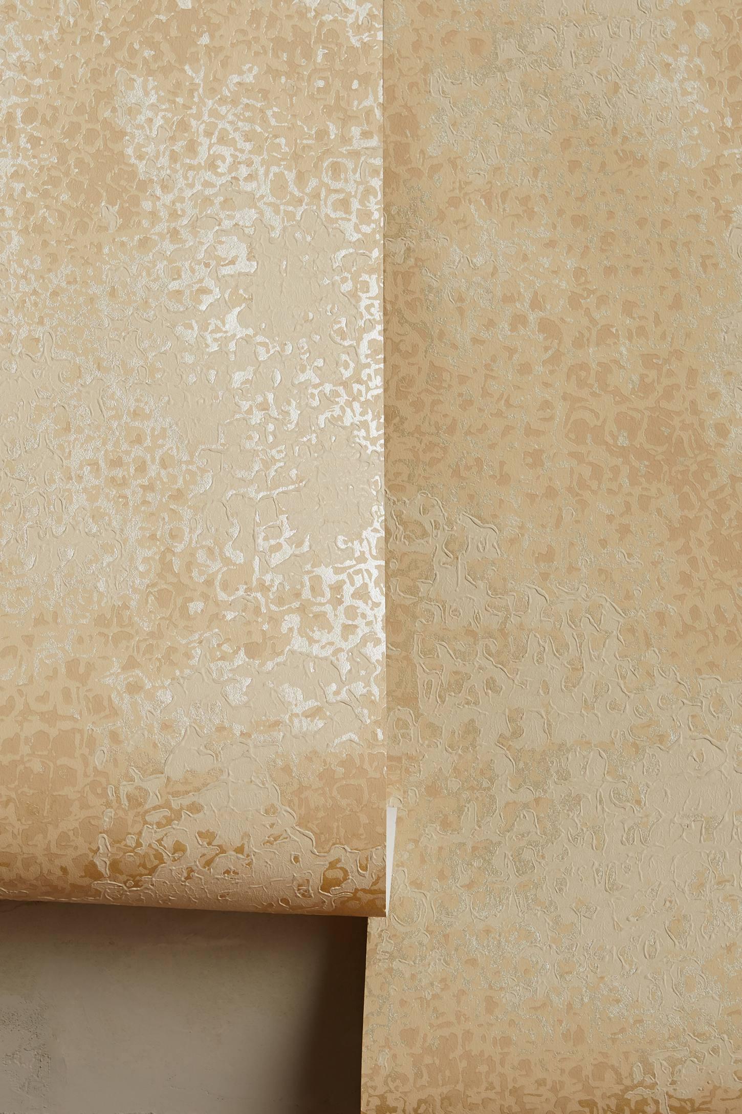 Textured Foil Wallpaper | Anthropologie