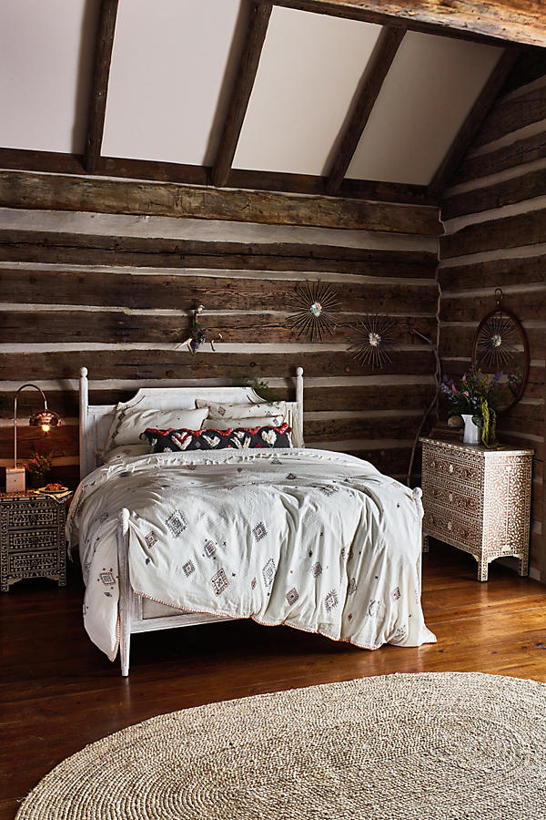 Slide View: 2: Washed Wood Bed