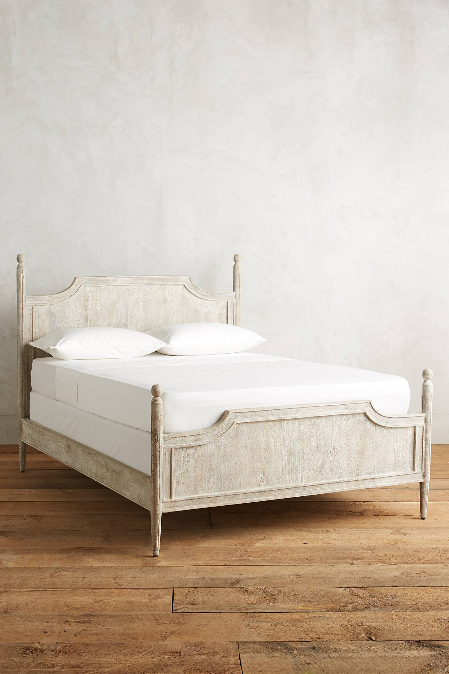 Washed Wood Bed