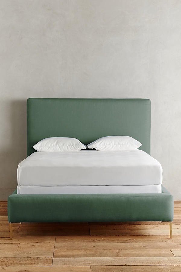 Slide View: 3: Linen Edlyn Bed