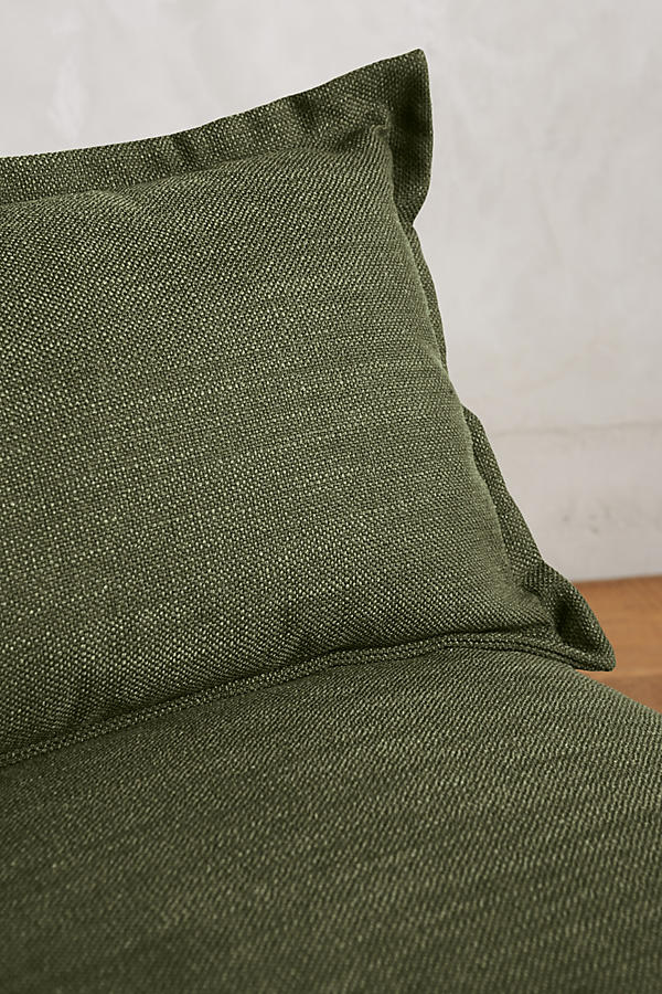 Slide View: 2: Basketweave Linen Tassa Sectional