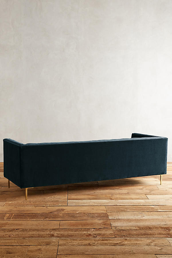 Slide View: 2: Velvet Mina Sofa