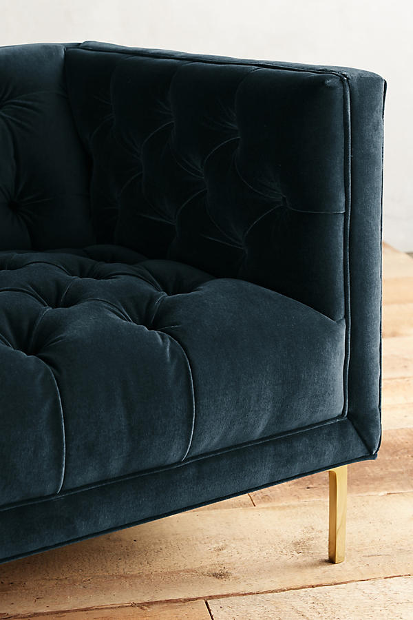 Slide View: 3: Velvet Mina Sofa