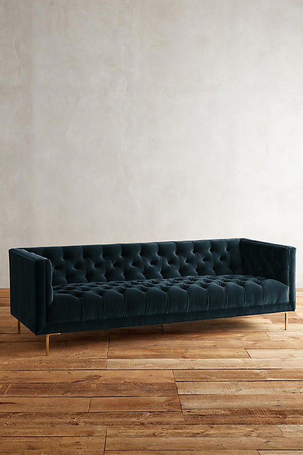 Slide View: 1: Velvet Mina Sofa