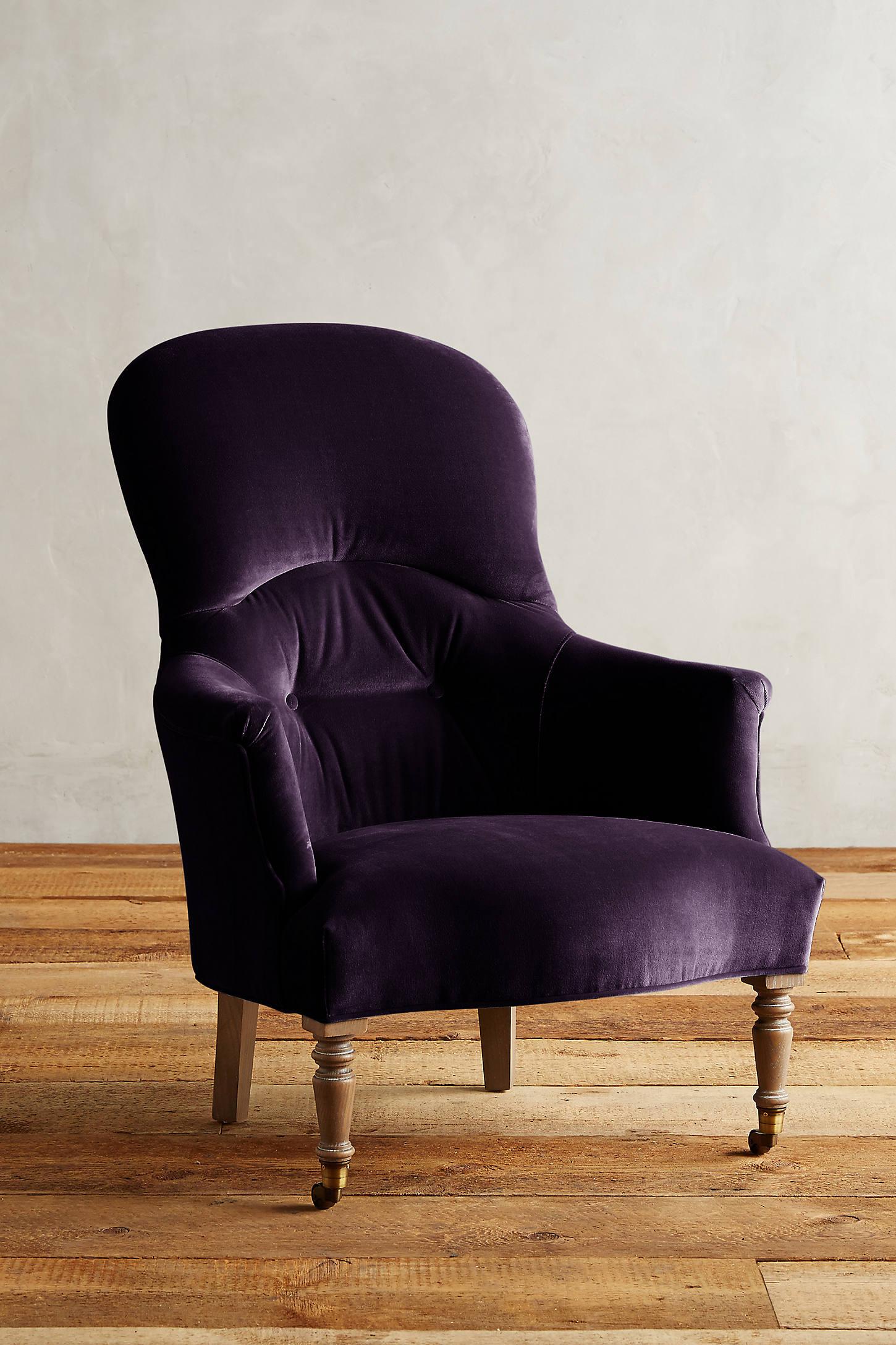 Velvet Parker Armchair